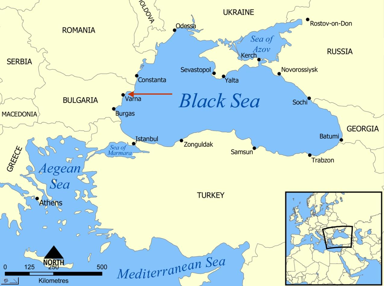 Bulgaria location on world map - Bulgaria location in world ...