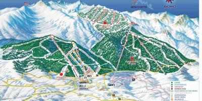 Bulgaria holiday resorts map