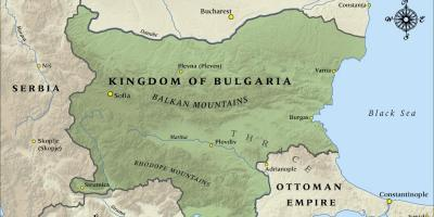 Map of old Bulgarian